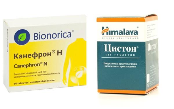 Канефрон и Цистон воздействуют практически на все основные патологические процессы при заболеваниях почек и мочевыводящих путей